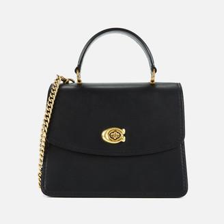 Coach Women's Parker Top Handle Bag - Black