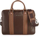 Robert Graham Roman Leather Briefcase, Brown