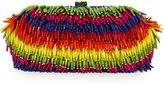 Santi Rainbow Bead Clutch