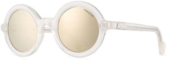 391752cc5c734 Moncler White Women s Sunglasses - ShopStyle