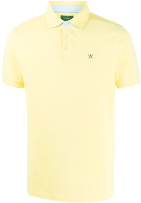Hackett Logo Embroidered Polo Shirt