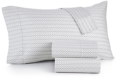 Sunham Sorrento Print Extra Deep Pocket King 6-Pc Sheet Sets, 500 Thread Count