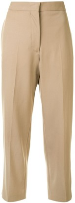 Jil Sander Tailored Cropped Trousers