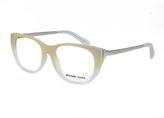 Michael Kors Cream Ombré Cat-Eye Eyeglasses