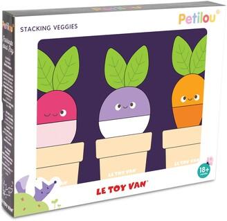 Le Toy Van Stacking Veggies Toy Kit