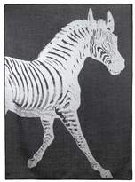 Thomas Paul Zebra Alpaca Throw Blanket