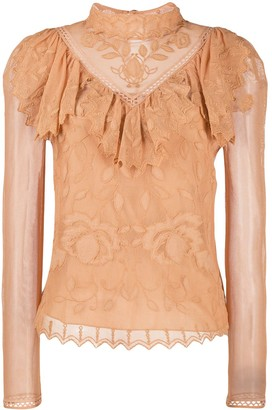 See by Chloe Victorian lace blouse