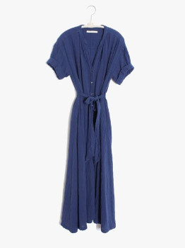 XiRENA The Cate Dress In Off Shore - XS
