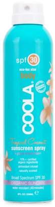 Coola Tropical Coconut Sunscreen Spray SPF 30