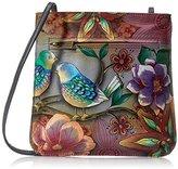 Anuschka Hand-Painted Leather BB Mini Cross-Body Bag