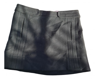 Cerruti Black Wool Skirts