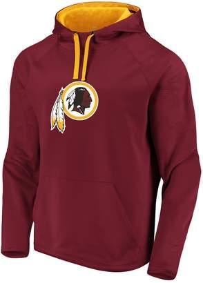 Redskins Unbranded Mens NFL Washington Defender Primary Logo Pullover