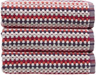 Christy Carnaby Stripe Towel - Berry - Bath