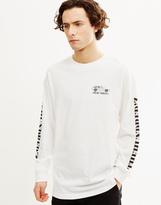 The Hundreds Bobby'z Long Sleeve T-Shirt White