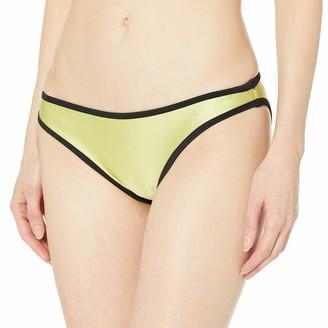 BraSociety Women's Neoprene Medium Coverage Bikini Bottom