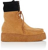 Alexander Wang Women's Selma Suede Platform Desert Boots-TAN, BLACK