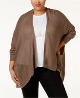 Love Scarlett Plus Size Pointelle-Knit Cardigan