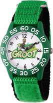 Marvel Guardian Of The Galaxy Boys Green Strap Watch-Wma000127