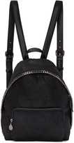 Stella McCartney Black Small Falabella Backpack