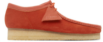 Clarks Red Wallabee Moccasins