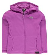 The North Face Kids Glacier Full Zip Hoody Junior Girls Outdoor Lightweight Warm