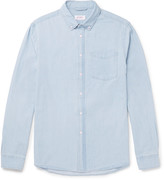 Saturdays NYC Crosby Slim-Fit Button-Down Collar Washed-Denim Shirt