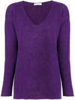Cruciani V-neck jumper - women - Cashmere - 40