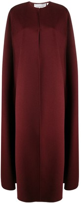 Valentino Long Cape Coat