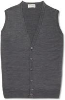 John Smedley Huntswood Merino Wool Vest