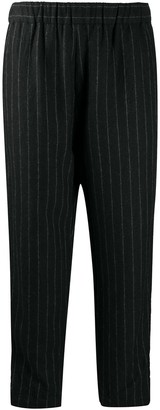 Casey Casey Pinstripe Cropped Trousers