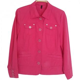 Basler Pink Cotton Jacket for Women