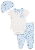 Absorba Infant Boys' Bodysuit, Pants & Hat Set - Sizes 0-9 Months