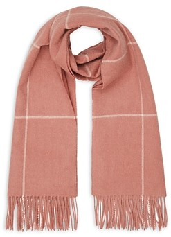 Reiss Polly Check Blanket Scarf