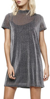 MinkPink Mori Lurex Tshirt Dress
