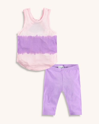Splendid Baby Girl Tie Dye Tank Set