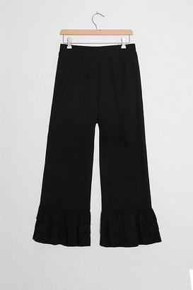 Jessy B Tiered Kick-Flared Trousers