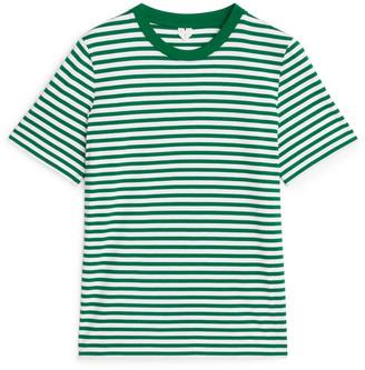 Arket Crew-Neck Striped T-shirt