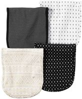 Carter's Baby 4-pk. Tile & Mosaic Burp Cloths