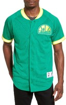 Mitchell & Ness Men's Nba Seasoned Seattle Supersonics Mesh Shirt