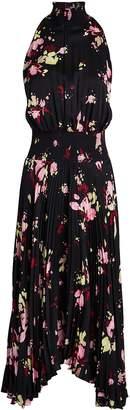 A.L.C. Renzo Floral Pleated Midi Dress