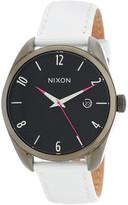 Nixon Women&s Bullet Leather Strap Watch