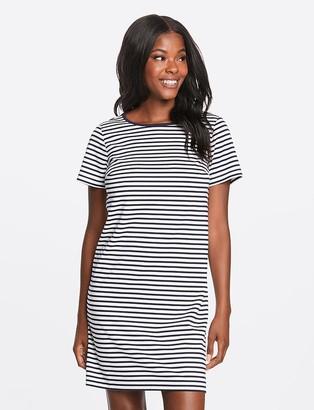 Draper James Nautical Stripe Ponte Shift Dress