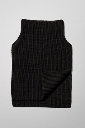 Weekday Pull Neck Warmer - Black