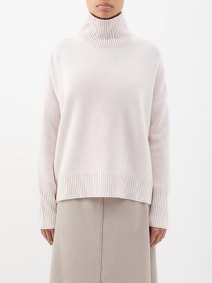 Lisa Yang - Heidi Roll-neck Cashmere Sweater - Light Pink