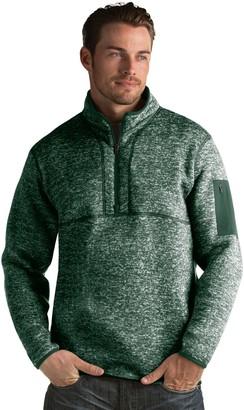 Antigua Men's Fortune Classic-Fit Half-Zip Pullover Sweater