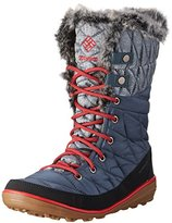 Columbia Women Heavenly Omni-Heat Organza Snow Boots, (Mystery, Bright Red 435), 36 EU