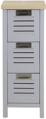 Lloyd Pascal Boston 3 Drawer Bathroom Storage Unit
