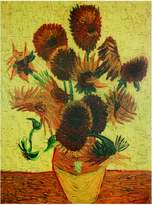 Oriental Furniture Inexpensive Classic Van Gogh Reproductions, 31-Inch Sunflowers, Art Print on Stretched Canvas, 31 by 23-Inch