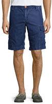 Robert Graham Hiker Linen/Cotton Cargo Shorts