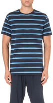 Derek Rose Alfie Striped Stretch-jersey T-shirt